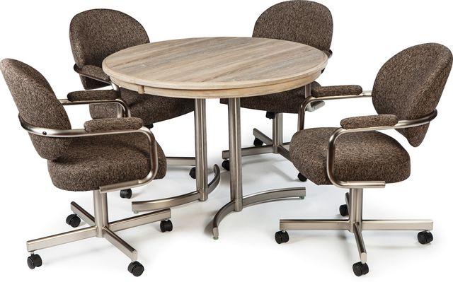 Chromcraft™ Kitchen Décor™ Dining Table-KL424D+KB01SS
