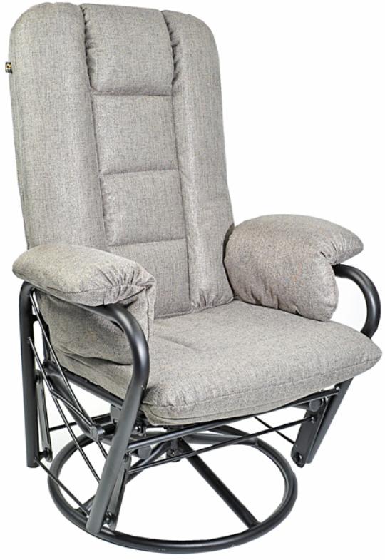 Fauteuil inclinable EKO en tissu gris PEL International®-184212