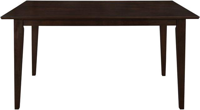 Coaster® Gabriel Cappuccino Rectangular Dining Table-100771
