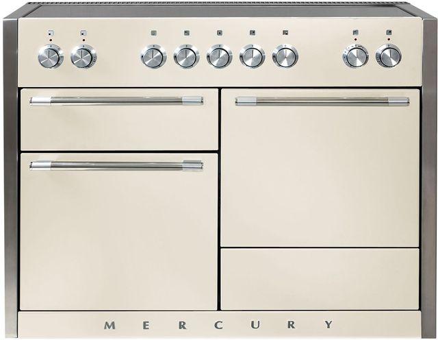 """AGA Mercury 48"""" Ivory Electric Induction Range-AMC48IN-IVY"""
