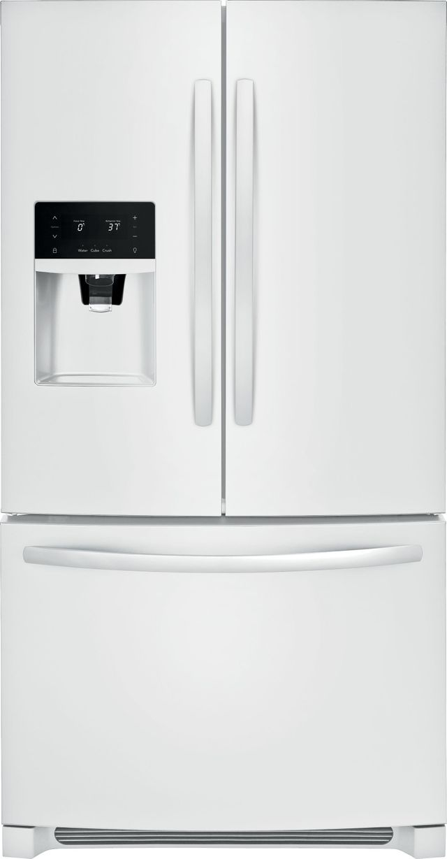 Frigidaire® 26.8 Cu. Ft. Pearl White French Door Refrigerator-FFHB2750TP