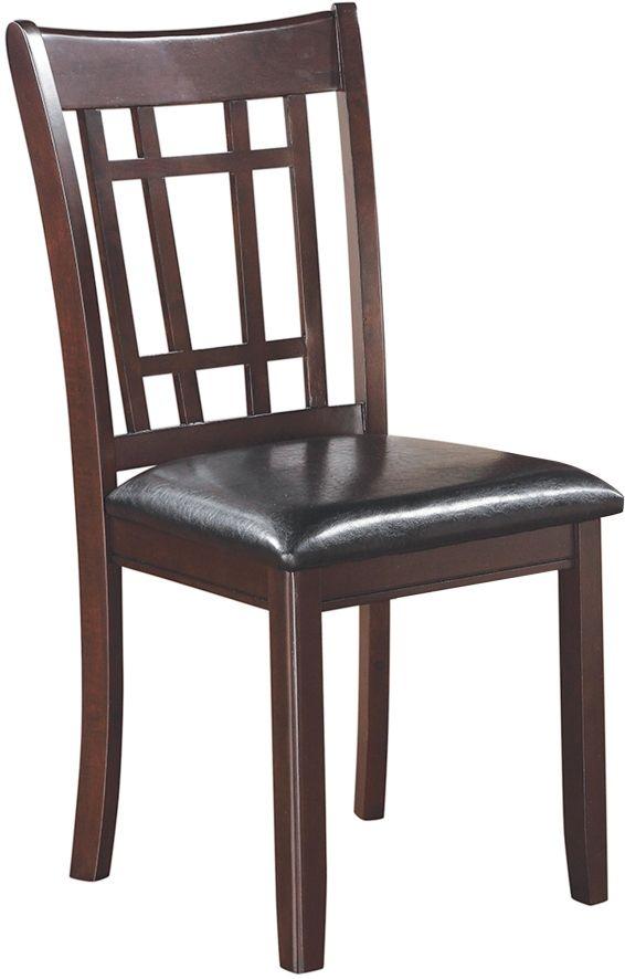 Coaster® Dalila Lavon Black Espresso Dining Side Chair-102672
