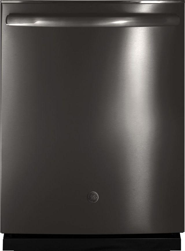 "GE® 24"" Built In Dishwasher-Black Stainless Steel-GDT655SBLTS"