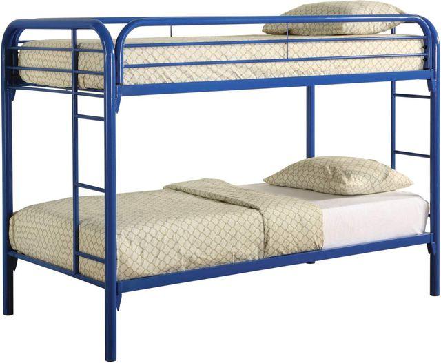 Coaster® Morgan Blue Twin Bunk Bed -2256B