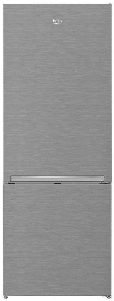 Beko 16.4 Cu. Ft. Fingerprint Free Stainless Steel Freestanding Bottom Freezer Refrigerator-BFBF2715SSIM