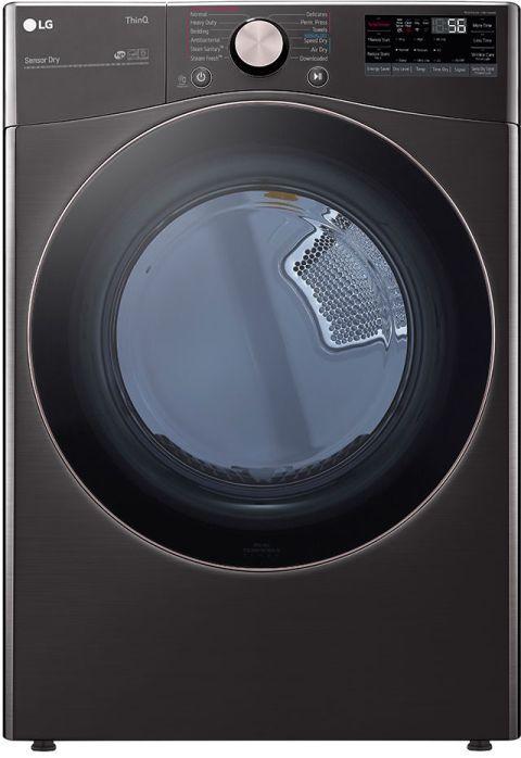 LG 7.4 Cu. Ft. Black Steel Front Load Electric Dryer-DLEX4000B