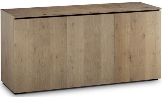 Salamander Designs® Chameleon Lancaster 337 Barnboard Oak AV Cabinet-C/LA337/BBO