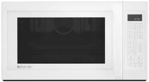 JennAir® 1.5 cu. ft.  Built-In or Countertop Microwave Oven with Convection-White-JMC1150WW