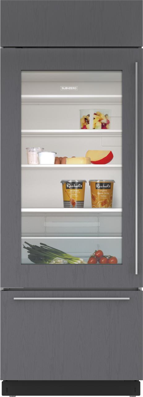 Sub-Zero® 17.3 Cu. Ft. Built In Refrigerator-Overlay-BI-30UA/O-LH