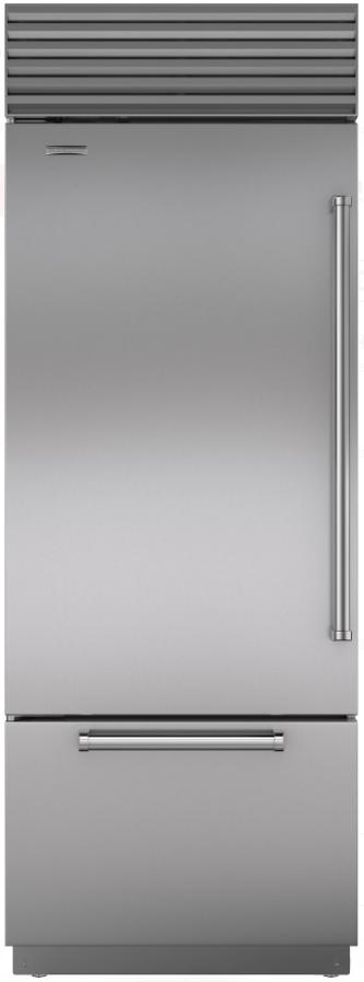 Sub-Zero® 17.4 Cu. Ft. Stainless Steel Bottom Freezer Refrigerator-BI-30U/S/PH-LH