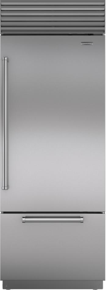 Sub-Zero® 17.4 Cu. Ft.Bottom Freezer Refrigerator-BI-30U/S/PH-RH