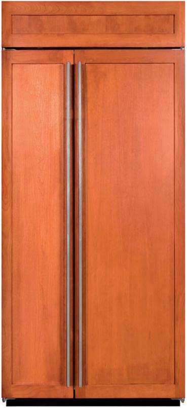 Sub-Zero® 20.6 Cu. Ft. Built In Side By Side Refrigerator-Overlay-BI-36S/O