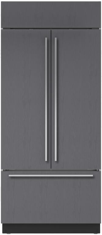 Sub-Zero® 21 Cu. Ft. Built In French Door Refrigerator-BI-36UFDID/O
