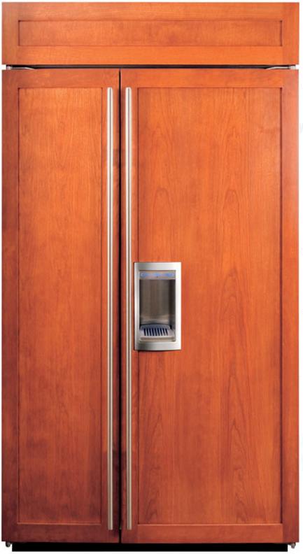Sub-Zero® 23.9 Cu. Ft. Built In Side By Side Refrigerator-Overlay-BI-42SD/O