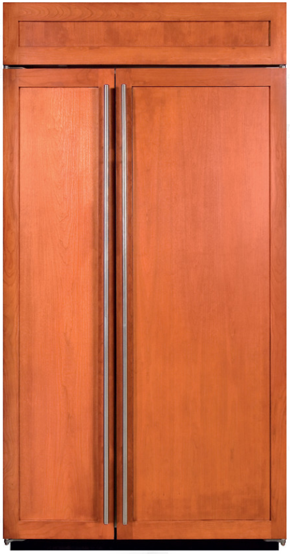 Sub-Zero® 23.7 Cu. Ft. Built In Side By Side Refrigerator-Overlay-BI-42SID/O