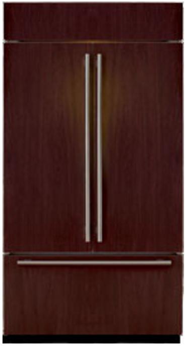 Sub-Zero® 24.7 Cu. Ft. Built In French Door Refrigerator-Overlay-BI-42UFD/O