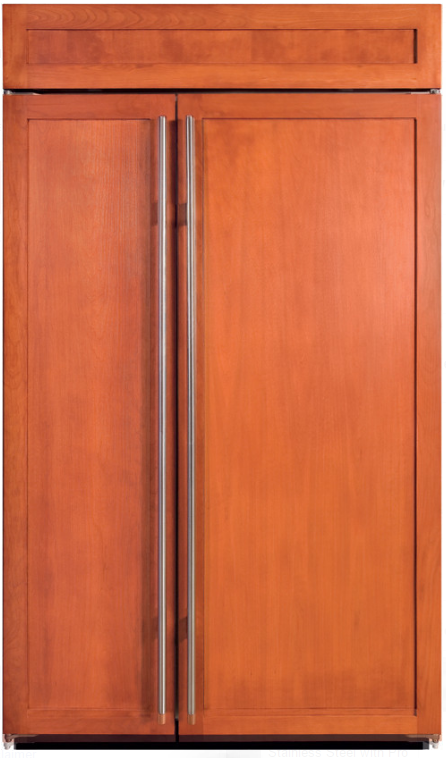 Sub-Zero® 28.2 Cu. Ft. Built In Side By Side Refrigerator-Overlay-BI-48SID/O