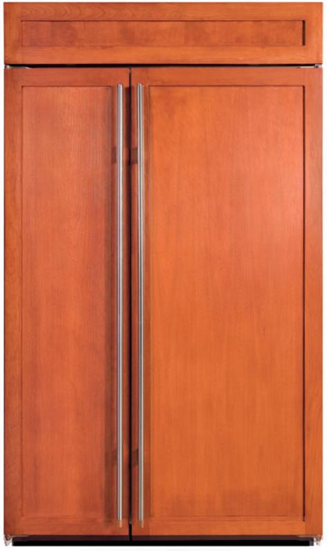 Sub-Zero® 28.9 Cu. Ft. Built In Side By Side Refrigerator-Overlay-BI-48S/O
