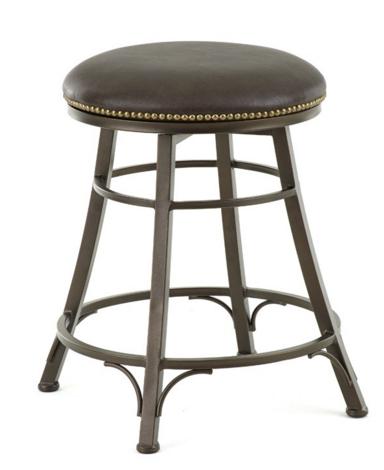 Steve Silver Co. Bali Backless Swivel Bar Chair-BL500SBC