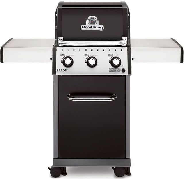 Broil King® Baron 320 Black Freestanding Gas Grill-921157