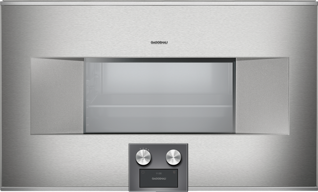 """Gaggenau 400 Series 30"""" Electric Built In Single Oven-Stainless Steel-BS484611"""