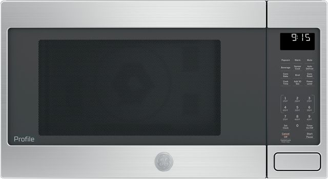 GE Profile™ 1.5 Cu. Ft. Stainless Steel Countertop Convection/Microwave Oven-PEB9159SJSS