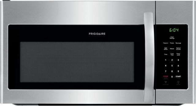 Frigidaire® 1.6 Cu. Ft. Stainless Steel Over The Range Microwave-FFMV1645TS