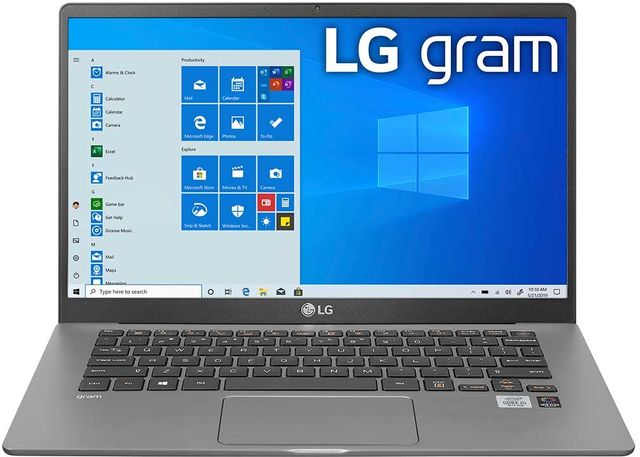 LG gram 14'' Dark Silver Ultra-Lightweight Laptop-14Z90N-U.AAS7U1