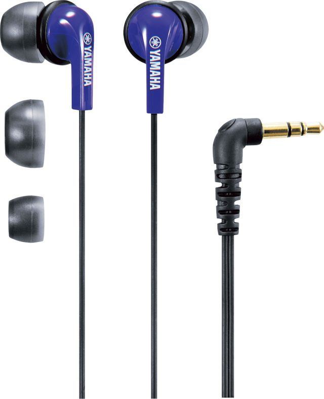 Yamaha® Indigo Blue In-Ear Headphones-EPH-20BU
