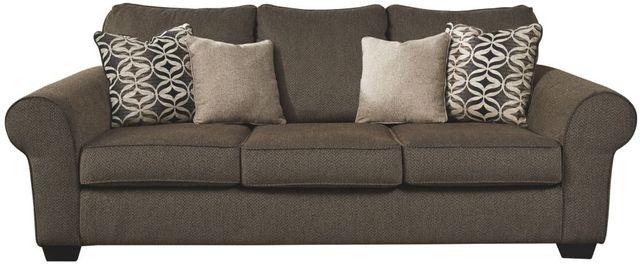 Benchcraft® Nesso Walnut Queen Sofa Sleeper-4910239