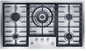 """Miele 36"""" Stainless Steel Gas Cooktop-KM2355G"""