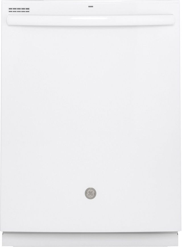 """GE® 24"""" White Built In Dishwasher-GDT530PGPWW"""