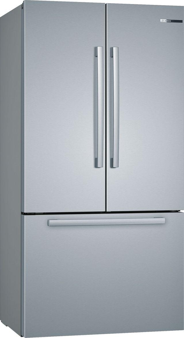 Bosch 800 Series 21 Cu. Ft. Stainless Steel French Door Bottom Freezer Refrigerator-B36CT80SNS