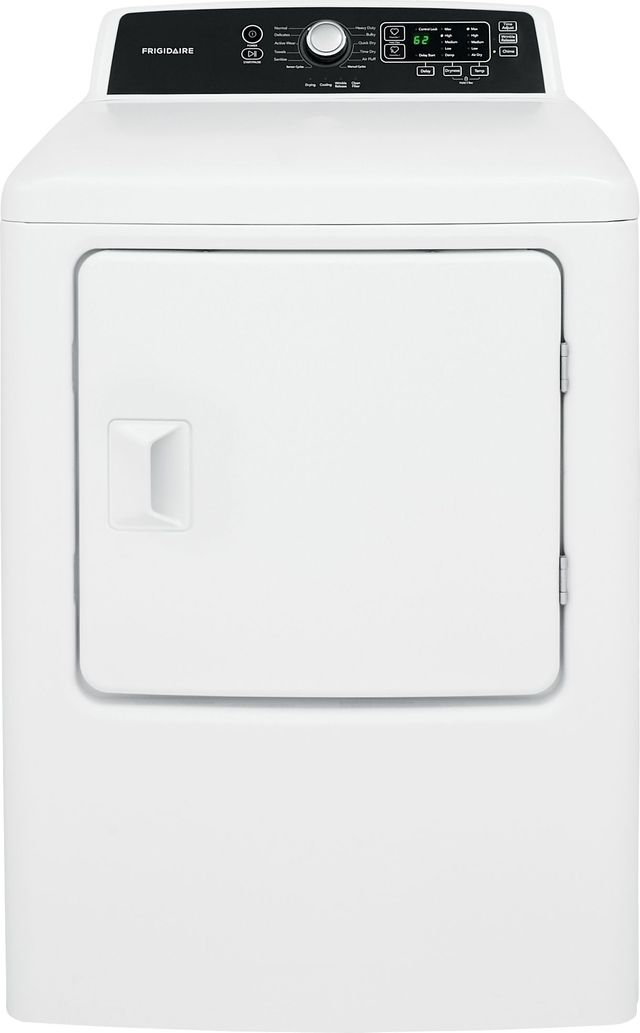 Frigidaire® 6.7 Cu. Ft. Classic White Free Standing Electric Dryer-FFRE4120SW