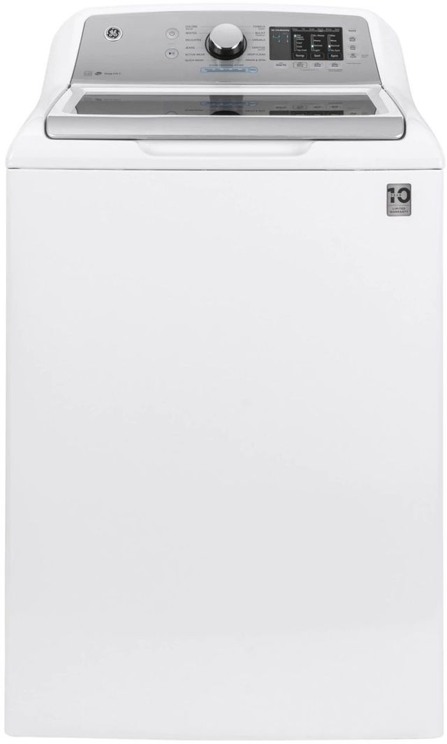 GE® 4.6 Cu. Ft. White Top Load Washer-GTW725BSNWS