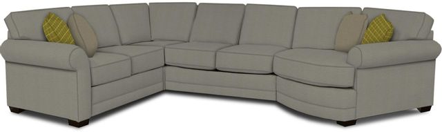 England Furniture Co. Brantley 4 Piece Culpepper Cement/Alvarado Mineral/Sway Agate Sectional-5630-28-22-43-95+8612+8580+8601