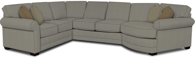 England Furniture Co. Brantley 4 Piece Culpepper Cement/Alvaro Mineral/Emma Natural Sectional-5630-28-22-43-95+8612+8616+8601