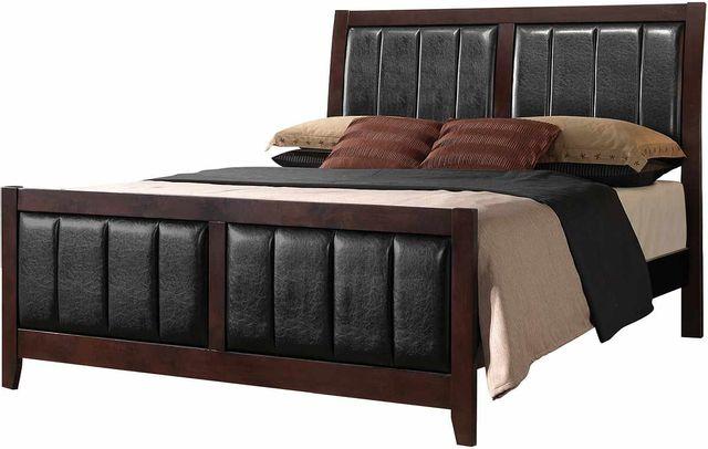 Coaster® Carlton Cappuccino Queen Bed-202091Q