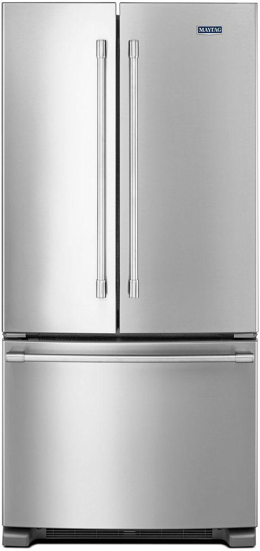 Maytag® 22.11 Cu. Ft. Fingerprint Resistant Stainless Steel French Door Refrigerator-MFF2258FEZ