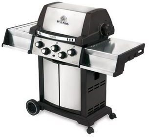 """Broil King® Signet 90 23.2"""" Black with Stainless Steel Free Standing Grill-986884"""