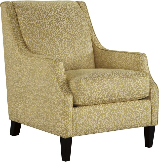 Cresson Accent Chair (Canary Finish)-5490721