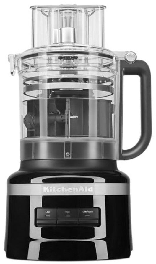 KitchenAid® 13 Cup Onyx Black Food Processor-KFP1318OB