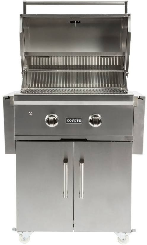 """Coyote Outdoor Living C-Series 28"""" Free Standing Grill-Stainless Steel-C1C28NG-FS"""
