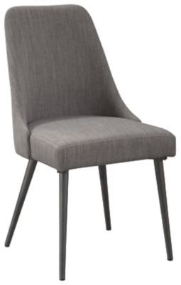 Coverty Gray Dining Upholstered Side Chair-D605-01