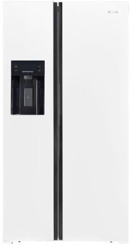 Vitara 19.6 Cu. Ft. White Counter Depth Side-by-Side Refrigerator-VSBS2001EW