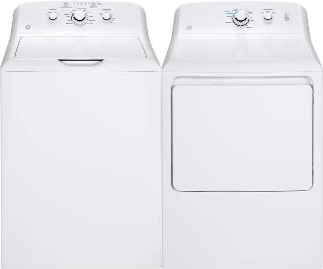 GE® White Laundry Pair-GELAUGTD33GASKWW