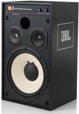 JBL Synthesis® 4312SE Studio Monitor Bookshelf Loudspeaker-Black Woodgrain-4312SE