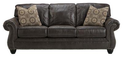 Benchcraft® Breville Charcoal Queen Sleeper Sofa-8000439