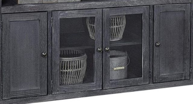 """Aspenhome® Eastport Drifted Black 84"""" Console with 4 Doors-WME1036-DBK"""