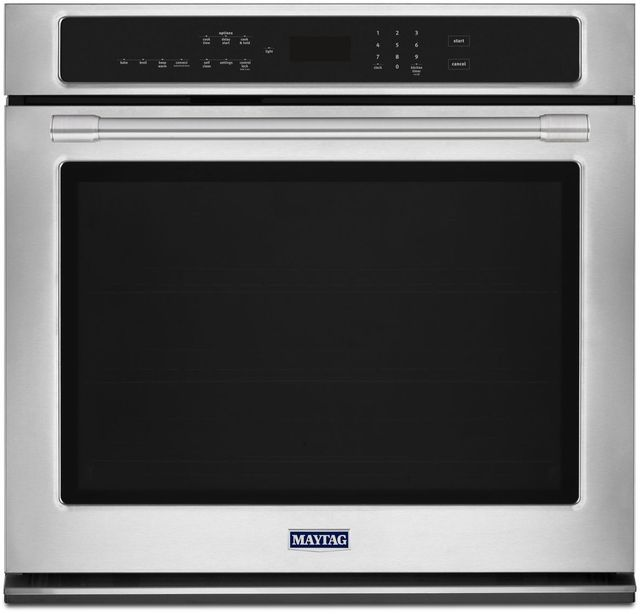 """Maytag® 27"""" Fingerprint Resistant Stainless Steel Electric Single Oven Built In-MEW9527FZ"""